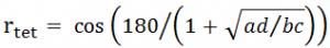 آزمون های همبستگی فرمول تتراکوریک